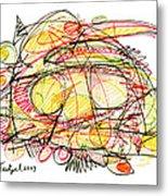 Modern Drawing Seventy-eight Metal Print