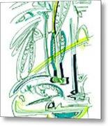 Modern Drawing Sixty-four Metal Print