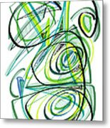 Modern Drawing Sixty Metal Print