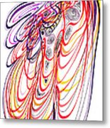 Modern Drawing Sixty-three Metal Print