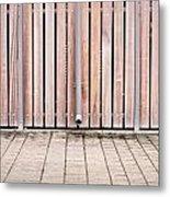 Modern Fence Metal Print