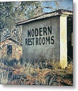 Modern Restrooms Metal Print
