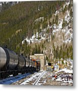 Moffat Tunnel East Portal At The Continental Divide In Colorado Metal Print
