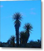 Mohave Blue Metal Print