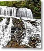 Mohawk Falls Metal Print
