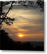 Mohawk Sunset Metal Print