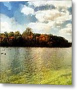 Mohegan Lake 3 Metal Print