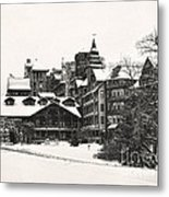 Mohonk Mountain House Metal Print