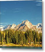 Molas Lake And The Needles Pan 1 Metal Print