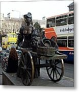 Molly Malone Metal Print