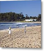 Mollymook Beach On The South Coast Of New South Wales Australia Metal Print