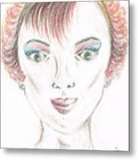 Mollys Makeover/ Pink Day Metal Print