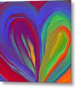 Molten Heart27 Metal Print