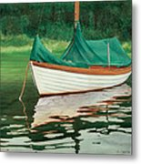 Moment Of Reflection X Metal Print by Marguerite Chadwick-Juner