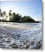 Momentary Foam Creation Metal Print