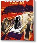 Monaco Grand Prix 1930 Metal Print