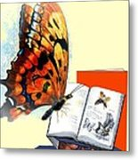 Monarch Books Metal Print by Melodye Whitaker