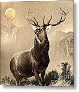 Monarch Of The Glen Metal Print