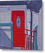 Monedarragh Back Door And Gate Metal Print