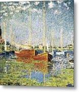 Monet, Claude 1840-1926. Argenteuil Metal Print by Everett