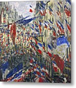 Monet: Montorgeuil, 1878 Metal Print by Granger