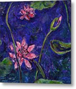 Monet's Lily Pond I Metal Print