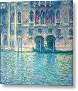 Monet's Palazzo De Mula In Venice Metal Print