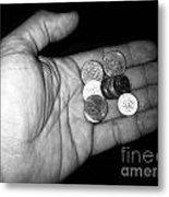 Money Always Funny Metal Print