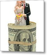 Money And Happiness Metal Print