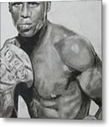 Money Mayweather Metal Print