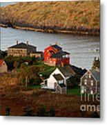 Monhegan Island Maine 142 Metal Print by Cindy McIntyre