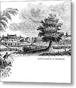 Monmouth Battlefield Metal Print