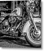 Mono Harley Metal Print