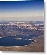 Mono Lake And The High Sierras Metal Print