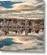 Mono Lake Reflections Metal Print