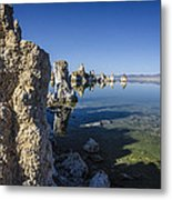 Mono Lake Tufas 3 Metal Print