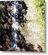 Monoa Waterfall  Metal Print