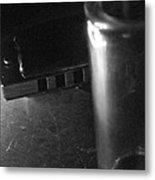 Monochrome Blues Metal Print