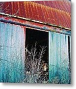 Monroe Co. Michigan Barn Metal Print
