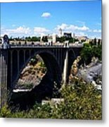 Monroe Street Bridge - Spokane Metal Print