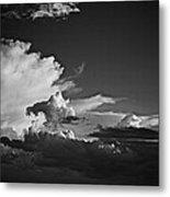 Monsoon Clouds At Sunset Metal Print