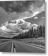 Monsoon Fury Metal Print