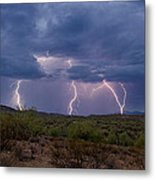 Monsoon Madness Strikes  Metal Print