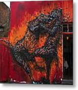 Monster Brawl Metal Print