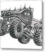 Monster Truck Metal Print