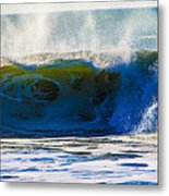 Monster Waves Metal Print
