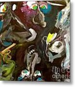 Monsters Afoot  Metal Print by Michelle Dommer