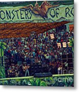Monsters Of Rock Stage While A C D C Started Their Set - July 1979 Metal Print