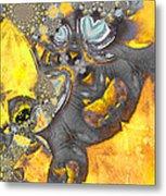 Monsters Vs Aliens Metal Print