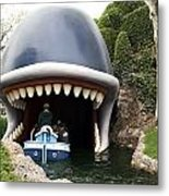 Monstro The Whale Boat Ride At Disneyland Metal Print
